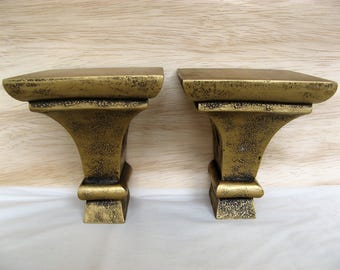 Pair of Sconces (or maybe Bookends)