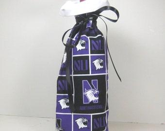 Northwestern University Class Wrap Wine Gift Bag