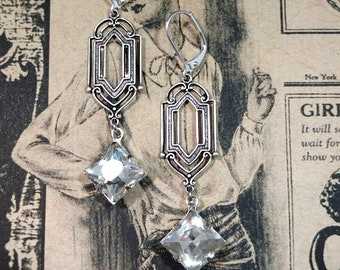 1920s Womens Fashion - 1920s Themed Wedding - Art Deco Jewelry - Miss Fisher - Downton Abbey Style Jewelry - Womens Jewelry