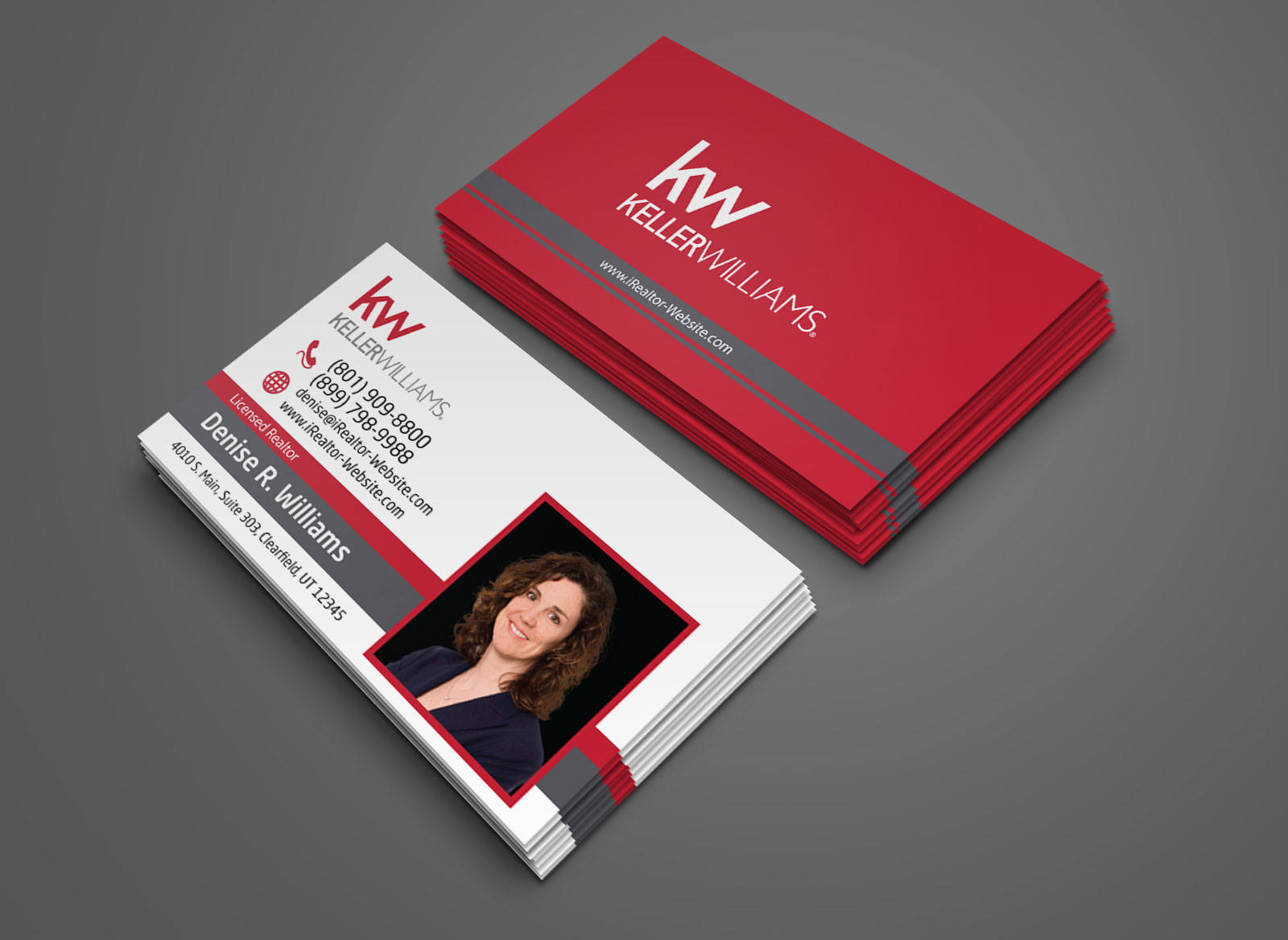 Keller Williams Business Card Century 21 Business Card