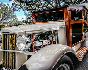 1930's Classic Rolls-Royce Car Photography, Automotive, Auto Dealer, Muscle, Sports Car, Mechanic, Boys Room, Garage, Dealership Art