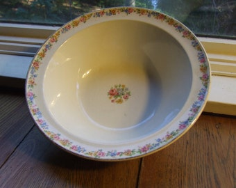 """Taylor Smith Taylor Bowl, 9"""" Round Vegetable Serving Bowl, #1631"""