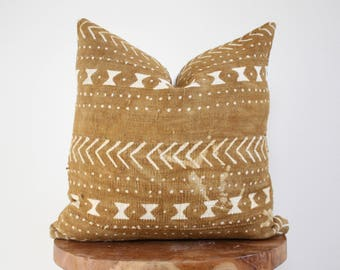 African Mud Cloth 18x18 Pillow Cover THE MORROCCO