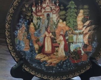 The Magic Land of Prince Gvidon - Byliny - Zhiryakova - 1991 Bradford Exchange