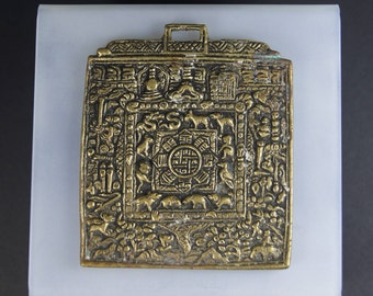 Traditional Tibetan Buddhist Calendar Vintage