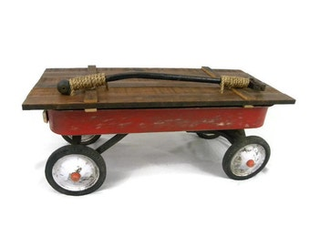 Rustic Vintage Wagon Chest Coffee table