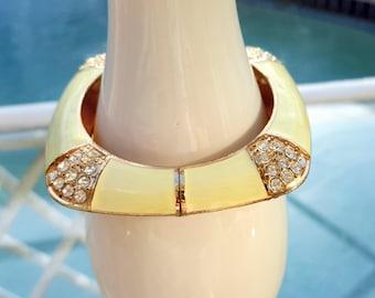 Gold Tone Square Bracelet