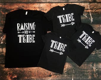 Raising My Tribe (Tribe) youth kids shirt