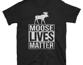 Moose Shirt Moose Gift Lives Matter Adopt Animal Rescue Shirt, Animal Shelter