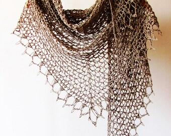 Overcast Shawl Crochet Pattern PDF