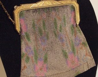 Whiting & Davis Mesh Handbag