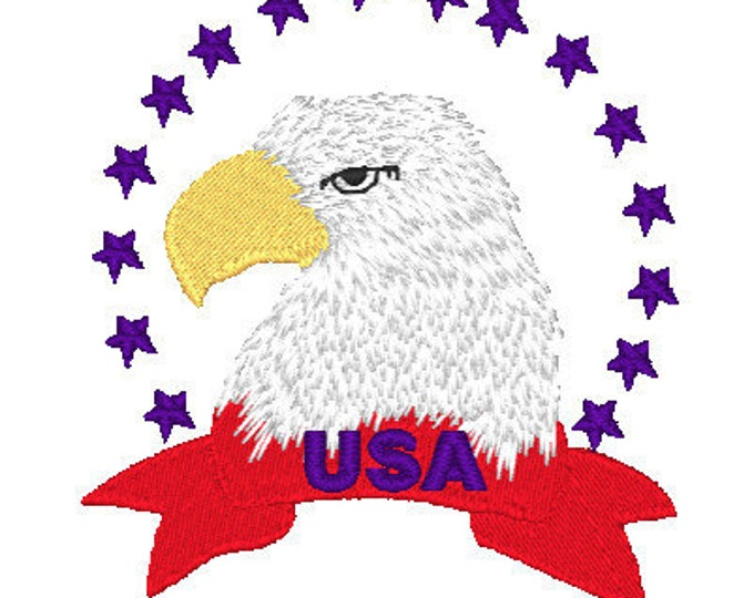 American Eagles  ( 12 Machine Embroidery Designs from ATW )