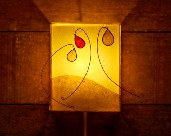 wall lamp handmade lamp