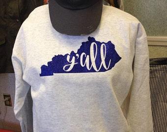 Ya'll Sweatshirt, Southern Sweatshirt
