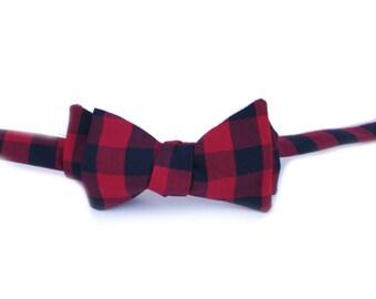 Buffalo Check Bow Tie