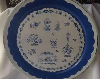 19 inch Vintage tray