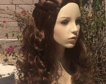 Margaery Tyrell Game Thrones Brunette Wig