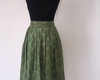 Wax Midi skirt