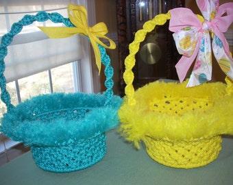 Gift or Easter Basket Macrame