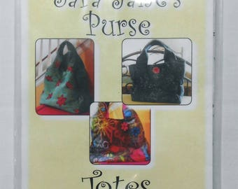 Pattern- Sara Jane's Purse -Totes by Sandy #2273