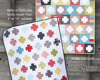 Inside Out Quilt Pattern by Alison Harris for from Cluck Cluck Sew