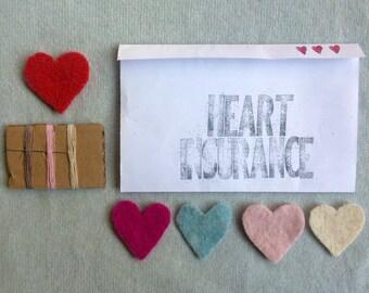 Heart Insurance : DIY fine wool repair instructions & kit