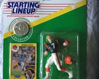 Boomer Esiason Starting Lineup , Cincinnati Bengals, Special Edition, 1991, MOC