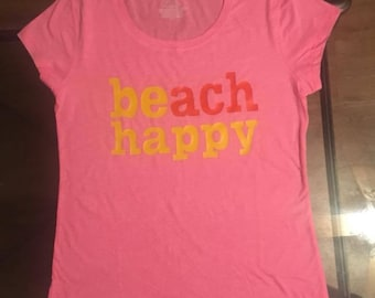 beach happy tshirt.