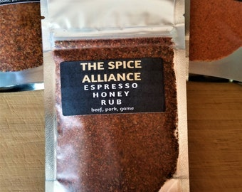 Espresso Honey Dry Rub Packet
