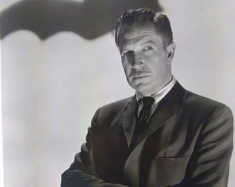 Universal Pictures Star Vincent Price Photographic Print - The Bat (1959)