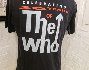 Size XL (47) ** 1993 The Who Tommy on Broadway Shirt (Double Sided)