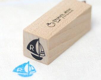 Yacht, small stamp, U3220