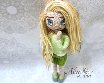 Amigurumi Doll Anime : Tutorial amigurumi doll bagian how to make embroidery