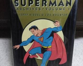 Vintage Dc archives edition Superman #1 navires de la meilleure copie de barrage rapide comme flash