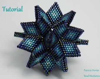 Tutorial for Hypernova beaded dodecahedron