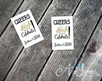 Free Birthday Vouchers ~ Printable free drink tickets drink tickets 3.5 x