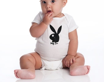 Baby onesie with, playboy