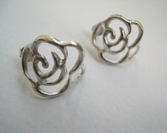 The rose collection - LACE EARRINGS