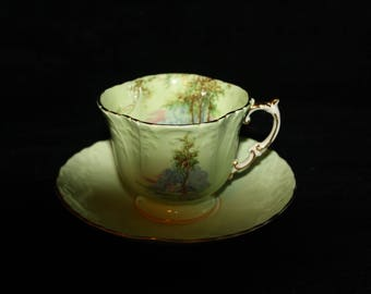 Aynsley Tea Cup and Saucer number c510/7