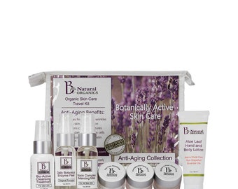 Organic Skin Care Travel Pack Collections