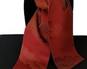 Kimono Scarf S8427 - paprika leaf