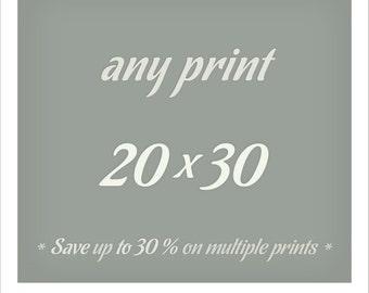 20x30 print Fine art photography prints Large wall art Living room decor Oversized art Metallic print 20x30 poster Home decor 50x75 cm