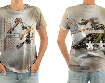 THE CARS heartbeat city shirt all sizes