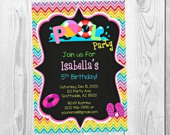 Party invitations Etsy
