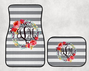 Personalized car mat | Etsy