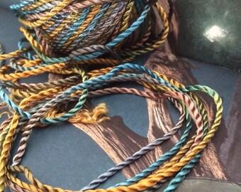 CORD Twisted Rayon Cord Jewellery Kumikiro Handfasting Cord Making