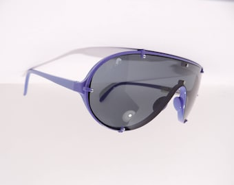 Vintage Modernist Cold War Era Purple Reusch Rare Sunglasses Made in West Germany