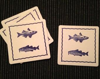 8 Coasters, Fish