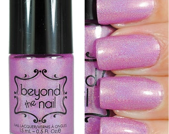 Moonshine - Holographic Lavender Jelly Nail Polish