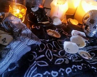 Elder Futhark Seashell Rune Casting